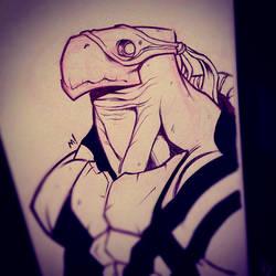 Teenage Mutant Ninja Turtles Rorshach Test by Zatransis