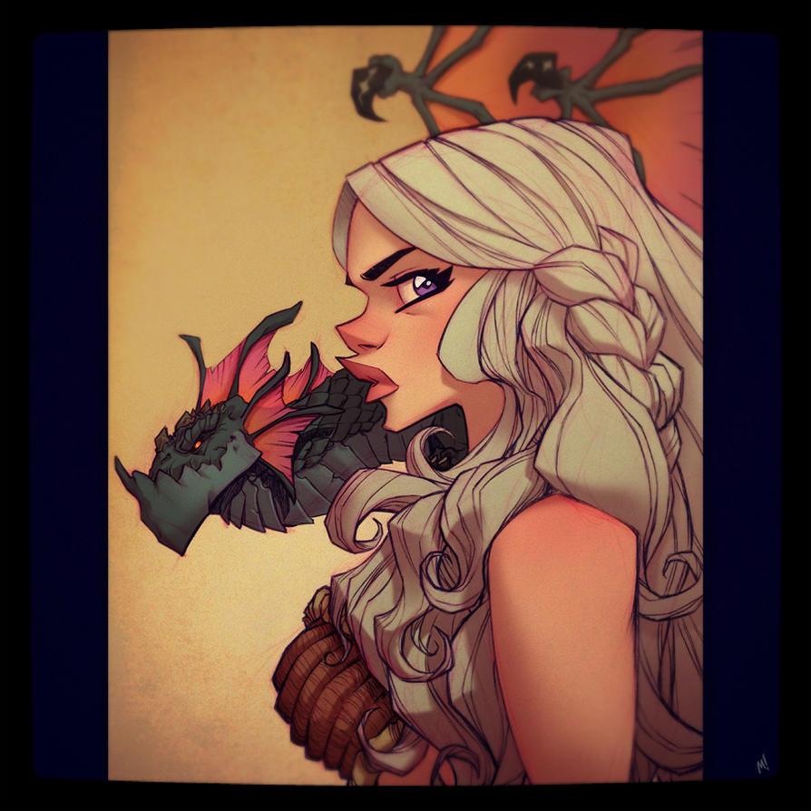 Daenerys Targaryen by Zatransis