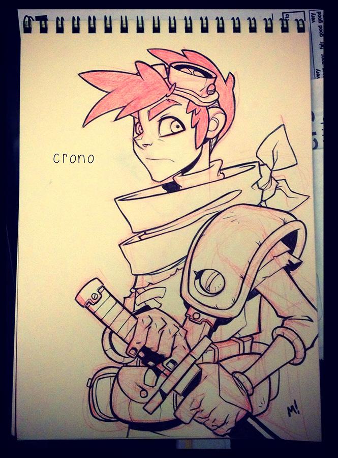 Crono Re-Imagined by Zatransis