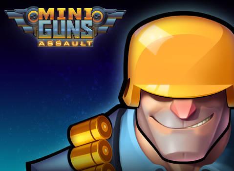 Miniguns: Assault Title Screen