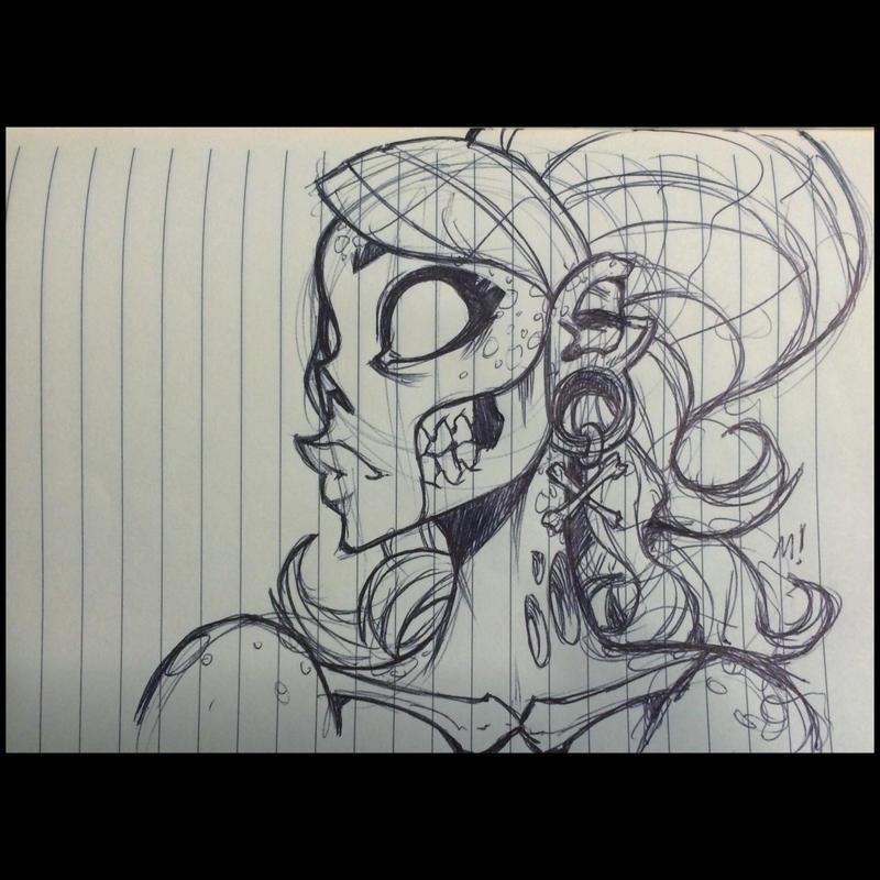 Zombie Chick by Zatransis