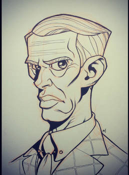 Inktober 2014 - Day 4 - Nucky Thompson