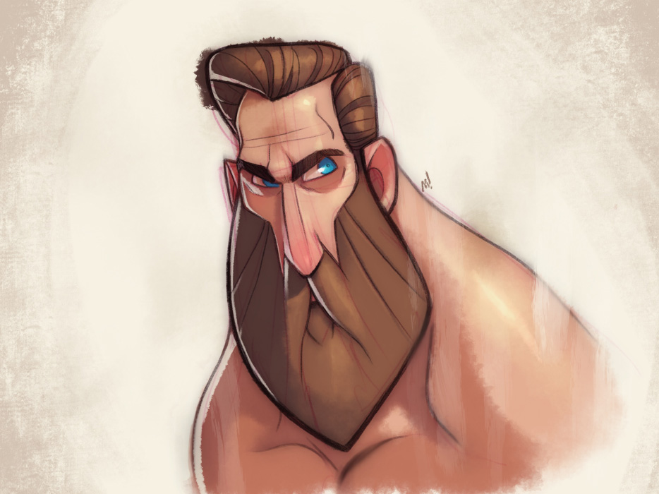Beardman by Zatransis