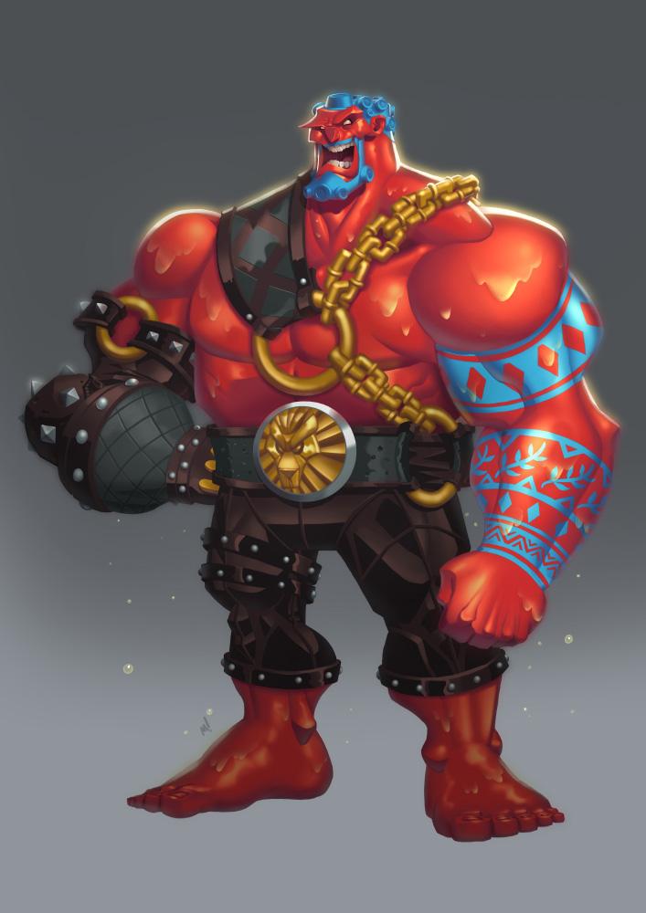 Street Fighter V - Hakan by Zatransis