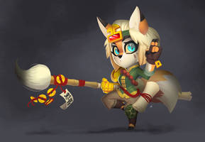 Unreleased ARPG - Fox Monk Concept by Zatransis