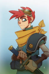 Crono (Chrono Trigger) by Zatransis