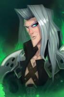 Sephiroth - Final Fantasy VII by Zatransis