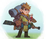Link (The Legend of Zelda) Redesign by Zatransis