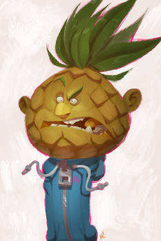 Pineapple Pete by Zatransis