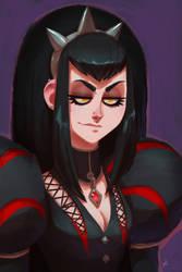 Stacy, Goth Princess by Zatransis