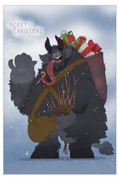 Krampus Takes a Break - Merry Christmas 2019