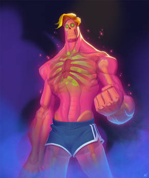 Rick, The Radioactive Fitness Nut