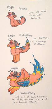 Chopo Evolution chart