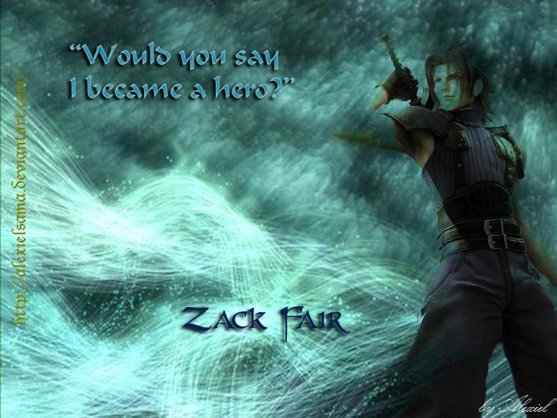 Zack fair wallpaper by alexielsama on deviantart - Zack fair crisis core wallpaper ...