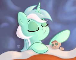 Sleepy Pones: Lyra by 1trickpone