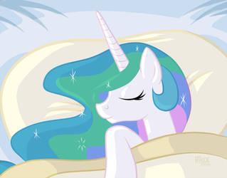 Sleepy Pones: Princess Celestia by 1trickpone