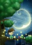Nightbirds and fireflies