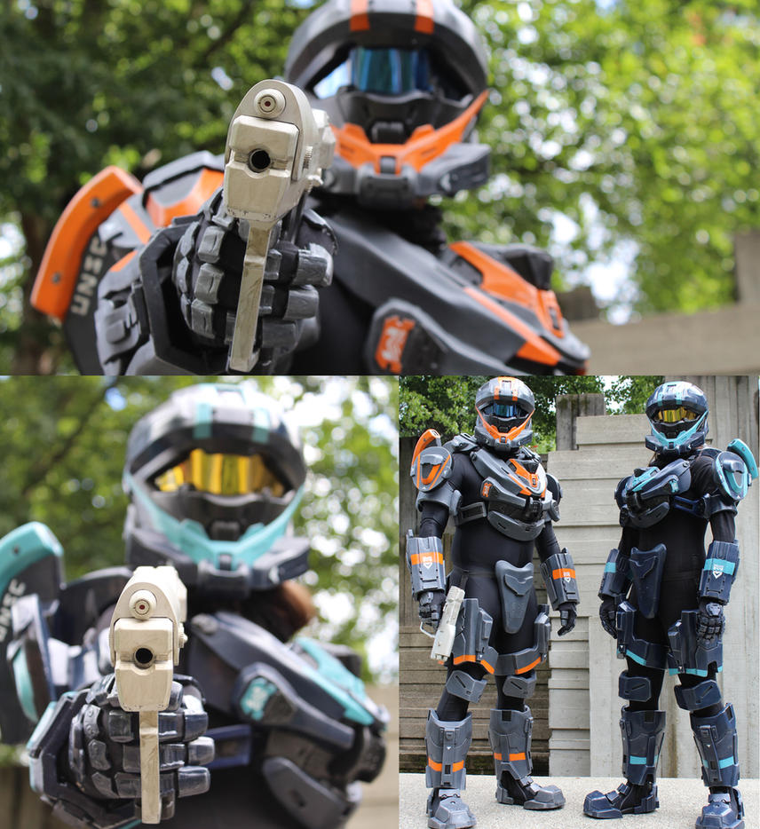 Halo Cosplay Recon Armor by Renraku-X on DeviantArt