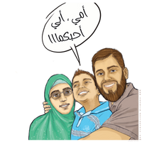 Mom, Dad, I love you by taoufiq