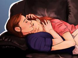 cuddles by dibenitez