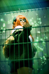 Futaba Sakura - Hacking by HauroCosplay