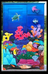 Reef Armoire by ReincarnationsDotCom