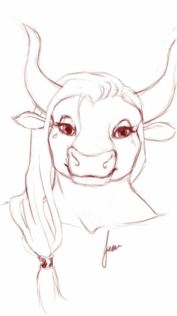 Delilah Sketch by Uyllstide