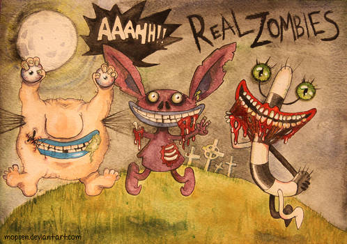 Aaahh!!! Real Zombies