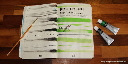 Wreck this journal: page 10-11
