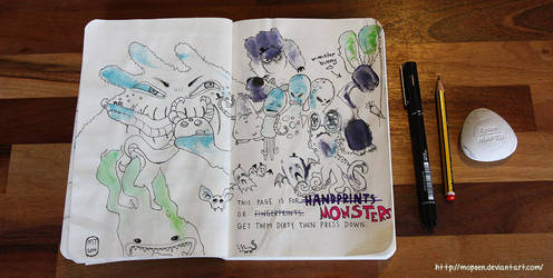 Wreck this journal: page 12-13