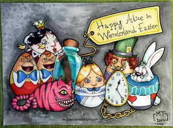 Alice in Wonderland Eastereggs