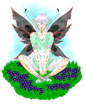 Fairy boy by bleding-rose