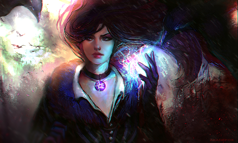 Yennefer Of Vengerberg Witcher By Akanelinken On Deviantart