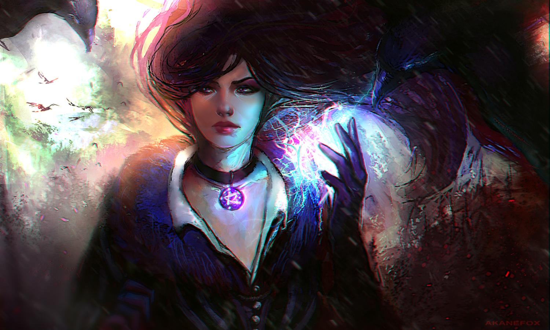 Yennefer of Vengerberg|Witcher by AkaneLinken