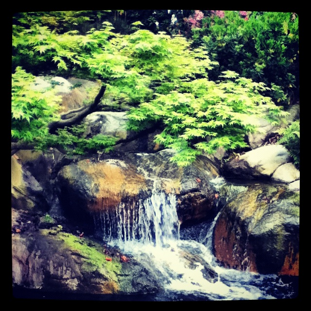 :D Japanese Garden mini mini mini waterfall by ...