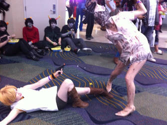 Megacon 2013 - Silent Hill Nurse and Heather by MadameOfHorror