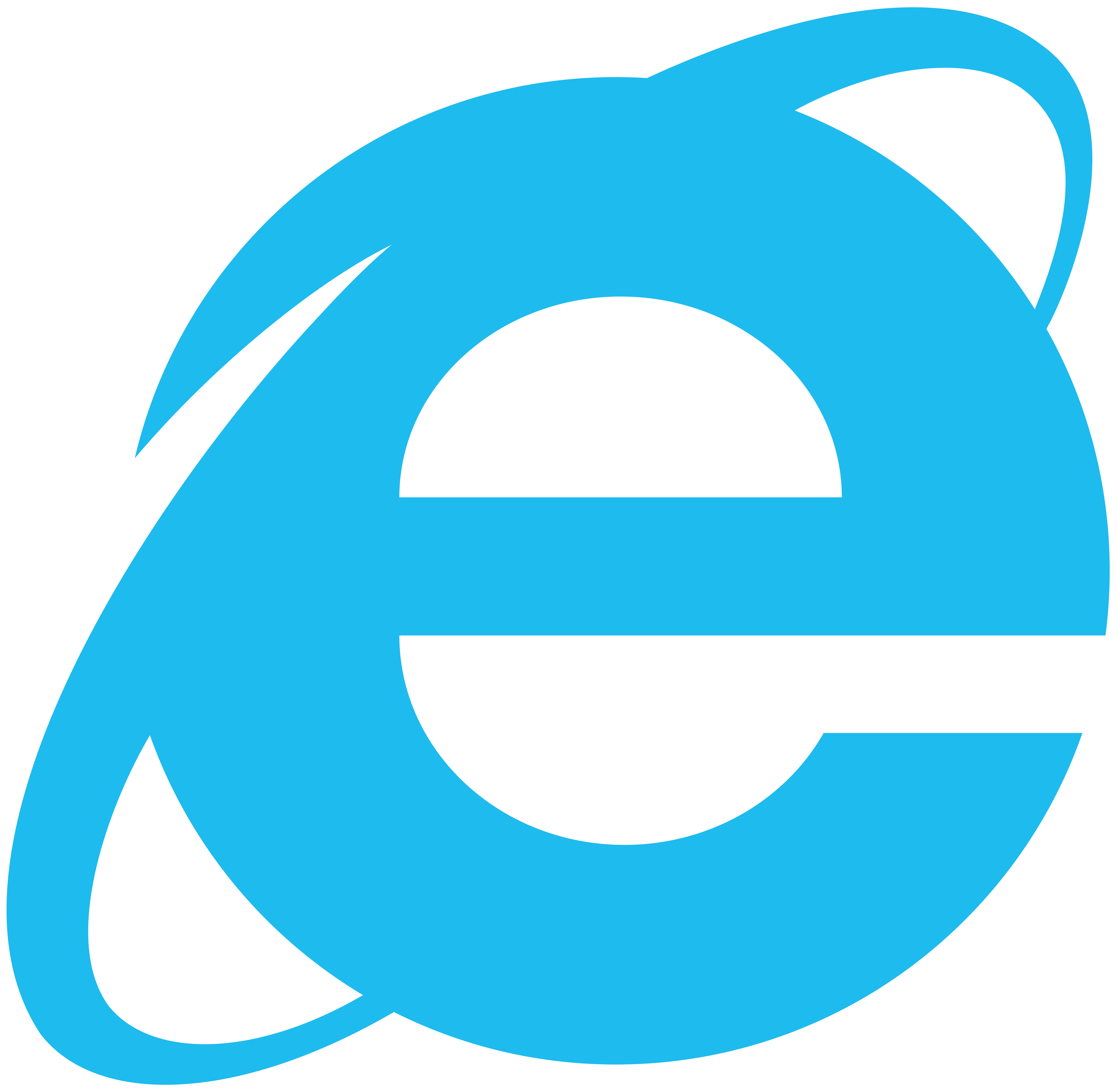 Internet Explorer Simplistic Logo, Vector by Luchocas on ...