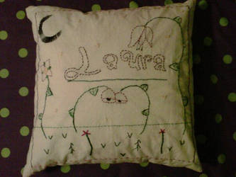 Laura Embroidery Cushion