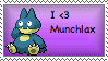 Munchlax Fan by homeworkkills