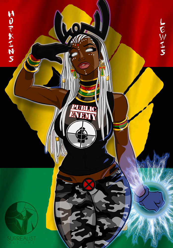 afrocentric storm 9 jack lewis collab by vghopkinsjr on