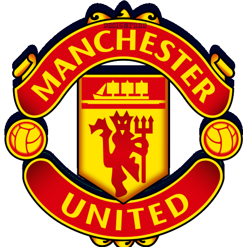 manchester united fc logo 3d by apolaytafred on deviantart