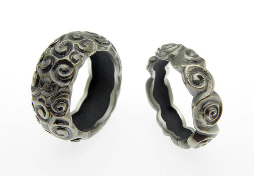 Snails Silver Rings