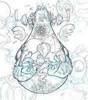 Gulumakian Fish Master pencil- by nedivory