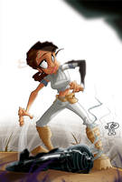 Padme, RUN!!! by nedivory