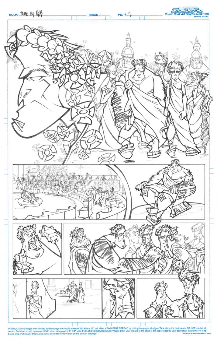 ROME - Page 4 Pencils