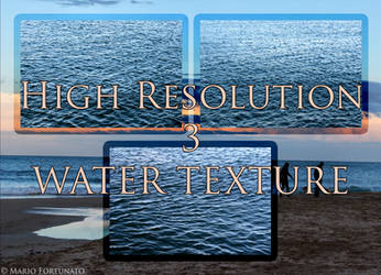 3 Water Texture High Resolution by skullkill88