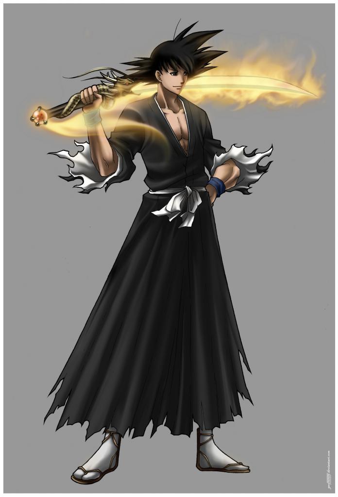 Goku Shikai by RobB1-23