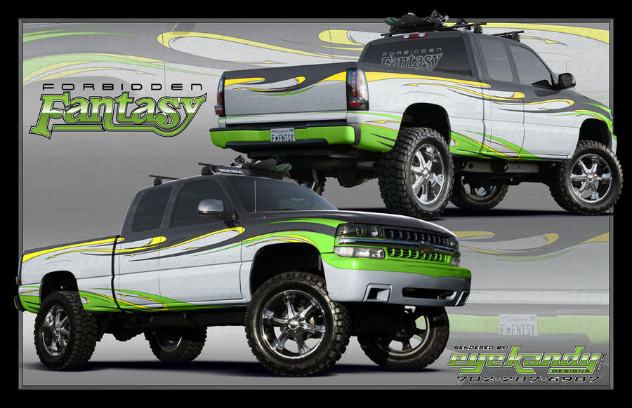 Lifted 2010 Chevy Silverado