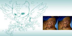 Owl Tattoo One