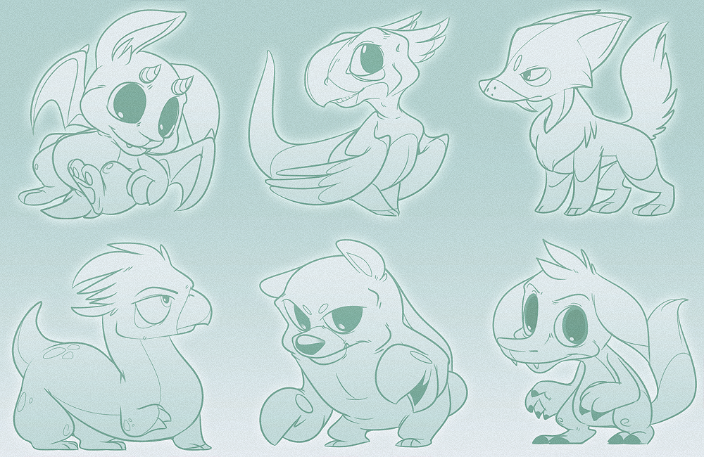 Character Design Zombie : Character design sketches by zombie on deviantart